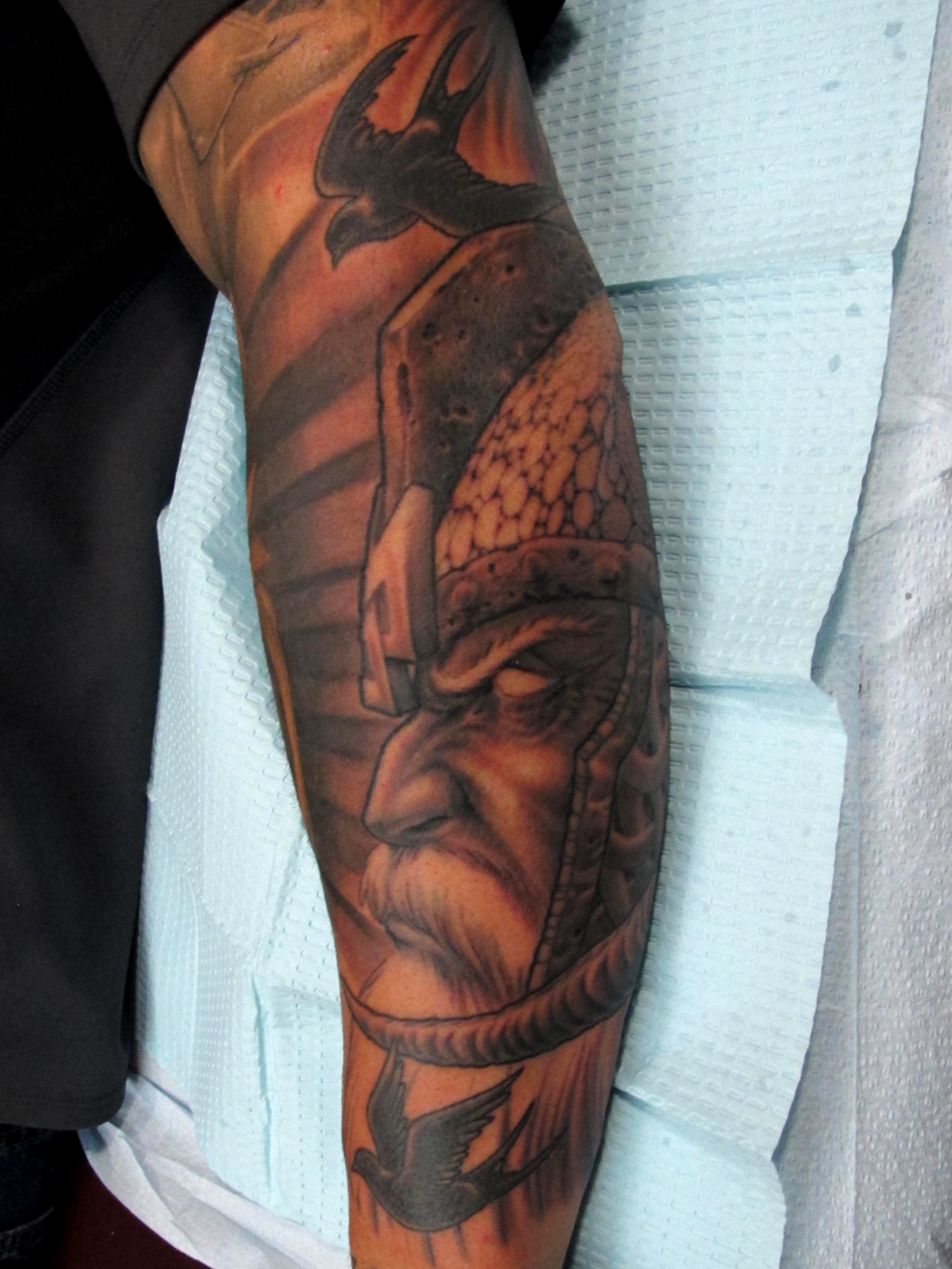 Odin Tattoos: Chris Black