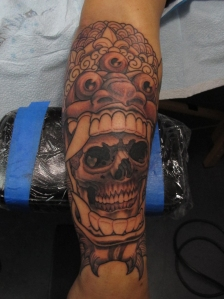 Leonel Indonesian Mask Skull