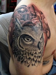 Shane Owl Clockwork