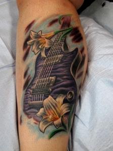 Shantele Gibson Guitar Lilies
